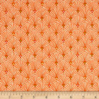 Ink & Arrow Ashtyn Fan Scallops Lt. Orange