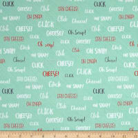 Ink & Arrow Say Cheese Photography Lingo Seafoam