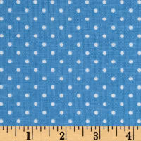 Riley Blake Swiss Dot Medium Blue