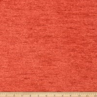 Fabricut Outlet Aquarelle Italian Cotton Blend Chenille Tigerlily