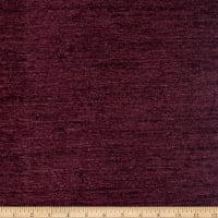Fabricut Outlet Aquarelle Italian Cotton Blend Chenille Eggplant
