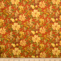 Fabricut Outlet Ashville Linen Blend Rouge