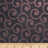 Fabricut Grand Scroll Ebony