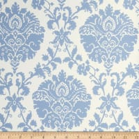 Fabricut Helmsley Wallpaper Sky (Double Roll)
