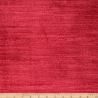 Fabricut Lexington Velvet Regal Red