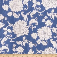 Fabricut Mickayla Wallpaper Indigo (Double Roll)
