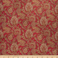 Fabricut Peaceful Chaos Rouge