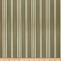 Fabricut Pomerol Stripe Faux Silk Rainforest Ja