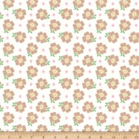 Riley Blake Bake Sale 2 Floral White