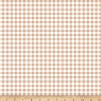 Riley Blake Bake Sale 2 Gingham Nutmeg