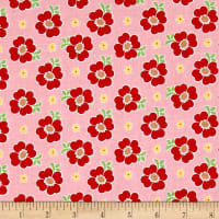 Riley Blake Bake Sale 2 Floral Pink