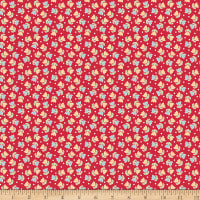 Riley Blake Bake Sale 2  Tulip Red