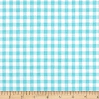Riley Blake Bake Sale 2 Gingham Aqua
