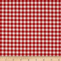Riley Blake Bake Sale 2 Gingham Red