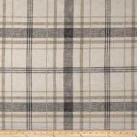 Richloom Lawson Velvet Plaid Moonlight