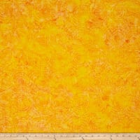 Island Batik Cotton Blender Daffodil