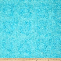 Island Batik Cotton Blender Aqua