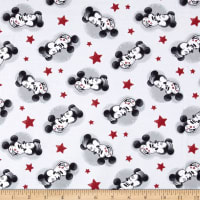 Disney Mickey True Love Mickey And Minnie Jersey Knit Multi