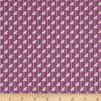 Penny Rose Sorbet Tee Stripes Purple
