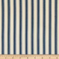 Ralph Lauren Home Outdoor Little Bay Ticking Ultramarine
