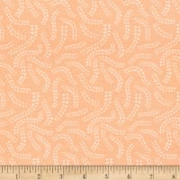 Cloud9 Fabrics Organic Field Day Interlock Knit Light Sprout Pink