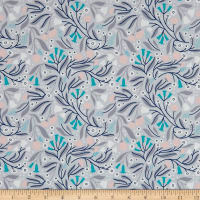 Cloud 9 Dancing Blossoms Grey / Multi