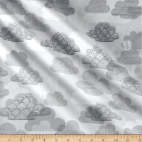 Cloud 9 Organic Matte Laminate Passing Clouds Gray