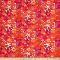 Good Dogs Floral Red