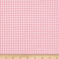 Whimsy Woodland Herringbone Pink