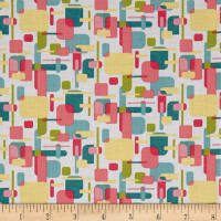 Whimsy Woodland Geometric White