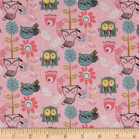 Whimsy Woodland Flying Whimsy Pink