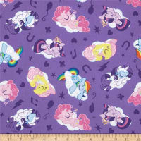 Hasbro My Little Pony Sleeping Ponies Lavender (Bolt, 15 Yard)