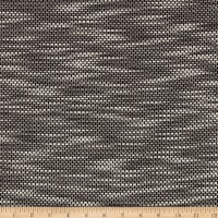 Designer Double-Faced Basketweave Jacquard Black/White