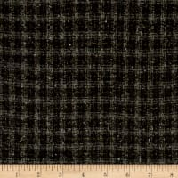 Muted Plaid Coating Dark Brown/Gray/Green