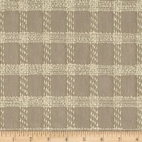 Windowpane Boucle Suiting Tan/Beige