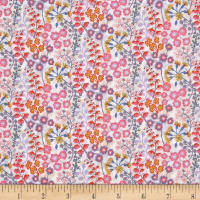 Liberty of London Tana Lawn Melody Small Pink Multi