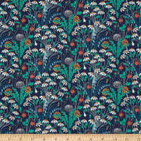 Liberty of London Tana Lawn Alpine Pasture Navy