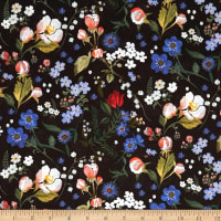 Liberty of London Tana Lawn Heidi Black Multi