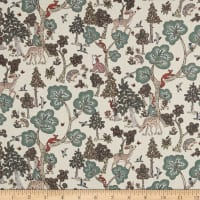 Liberty Fabrics Tana Lawn Doe a Deer Cream