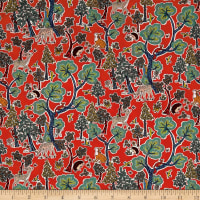Liberty Fabrics Tana Lawn Doe a Deer Red