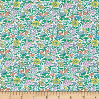 Liberty of London Tana Lawn Favourite Flowers Coral Multi