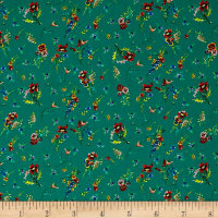 Liberty of London Tana Lawn Pick a Posy Green Multi