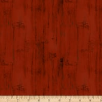Wilmington Homestead Wood Texture Red