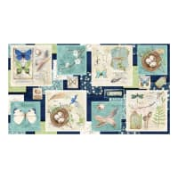 "Wilmington Nature Study Craft 24"" Panel Multi"