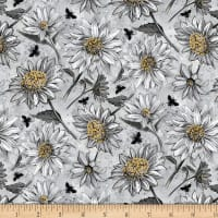 Wilmington A Bee's Life Daisy Allover Grey