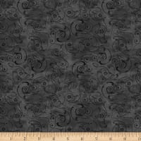 Wilmington Scarlet Dance Scroll Black