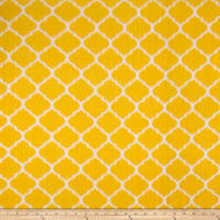 Fleece Trellis Yellow