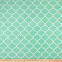 Fleece Trellis Mint