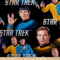 Fleece Star Trek - Classic - Kirk & Spock Multi