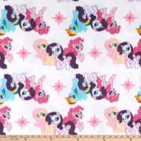 Fleece My Little Pony Friends White